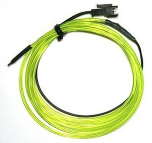 BG78002-3 COLD LIGHT STRING (1M) LIME GREEN BG78002-3