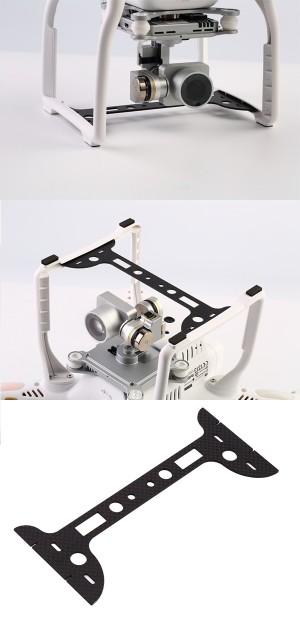 Accessorio in Fibra di carbonio per protezione Camera DJI PHANTOM 3