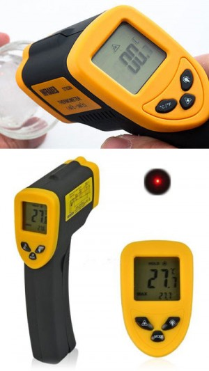 BIZE025 Termometro Digitale ad infrarossi