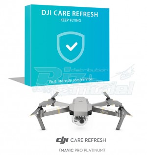 DJI Care Refresh (Mavic Pro Platinum) Card