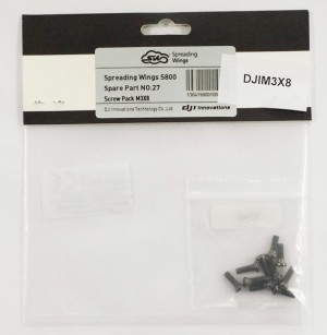 DJI Screw Pack M3x8 10 pezzi