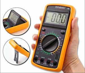 DT-9205A TESTER MULTIMETER DIGITALE PRO