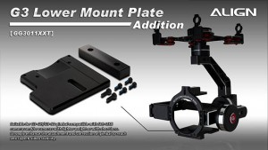 GG3011XX G3-GH Extension Lower Mounting Plate