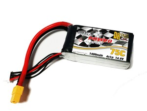 GP1400-4S GigaPower 14.8V 1400mAh 4cell 75C - 130C