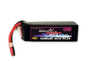 GP53506S 22.2V 5350mAh 6Cell 40C