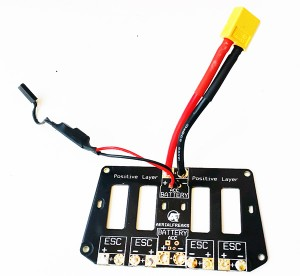 HYPER 400 - POWER DISTRIBUTION BOARD WITH H3D-0012