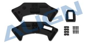 H80B017XX G800 Gimbal yaw mount carbon plate set