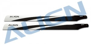 HD600E 600 3G Carbon Fiber Blades