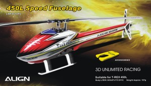 HF4510 450L Speed Fuselage – Red