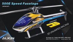 HF5018 500E Speed Fuselage – Blue & White