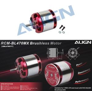 HML47M01 470MX Brushless Motor(1800KV/2818)