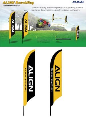 ALIGN Beachflag  Bandiere da divertimento Race