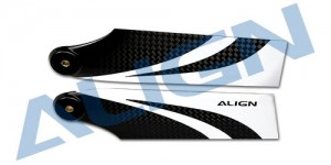 HQ0850B 85 Carbon Fiber Tail Blade