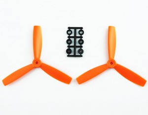 HQProp 5X4,5X3 CCW ORANGE (pack of 2)