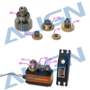 DS525 Servo Gear Set HSP52501