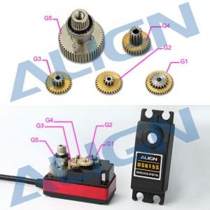 DS615S Servo Gear Set HSP61503
