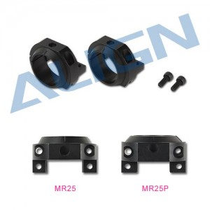 M425006XX MR25 Motor Mount Block - Black