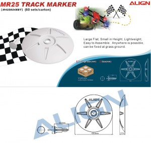 MR25 Track Marker - White