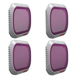 PGYTECH Filter for MAVIC 2 PRO - ND SET 4 pezzi (Professional) ND8 ND16 ND32 ND64