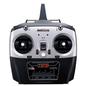 RadioLink T8FB Remote Control (Mode 2)+ R8FM 8CH Mini Receiver RADT8FB