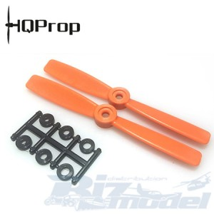HQProp 3D-5X4.5 CW ORANGE (pack of 2)