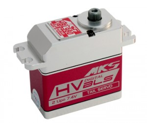 MKS HBL980 High Voltage Hi-Speed Brushless Rudder Servo S0010006