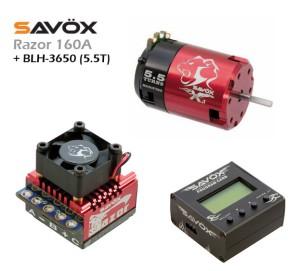 ESC (RAZOR 160A) + PROG. CARD + BLH-3650 (5.5T)
