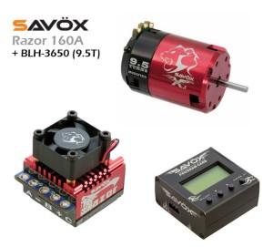 ESC (RAZOR 160A) + PROG. CARD + BLH-3650 (9.5T)