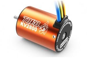 SK-400005-10 TORO 2800KV 4P BL MOTOR FOR 1/10 CAR