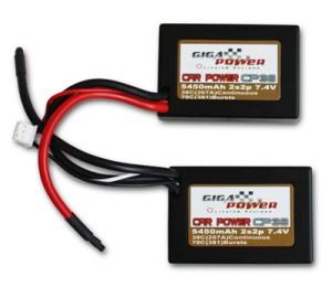 GP5450CPU 7,4V 5450mAh 2Cell 38C continui 70C picco