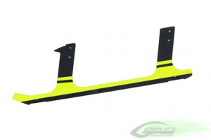 Carbon fiber landing gear - Yellow (1pcs) - Goblin H0105-S