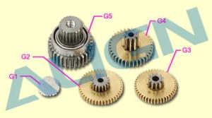 DS425M Servo Gear Set HSP42501 HSP42501