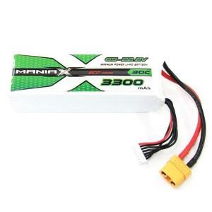 ManiaX 22.2V 3300mAh 30C Lipo XT90