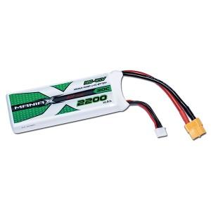 ManiaX Power LiPo 3S 2200mAh 11.1V serie ECO 30C