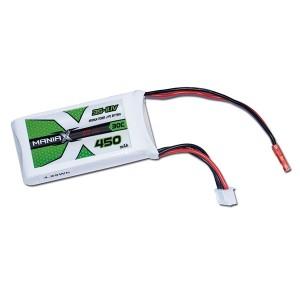 ManiaX Power LiPo 3S 450mAh 11.1V serie ECO 30C