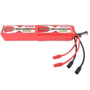 ManiaX 44.4V 5100mAh 70C Lipo Battery Pack