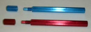 BIZT036 Blocca pistone color Rosso