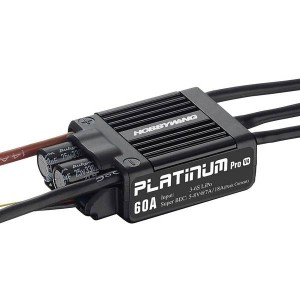 30215100 HobbyWing Platinum Pro 60A LV Speed Controller