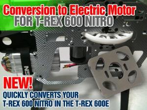 Conversione a Elettrico per T-Rex Nitro