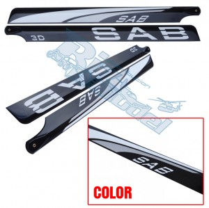 BL315-3DS-S PALA ROTORE PRINCIPALE 315 mm 3D Silver