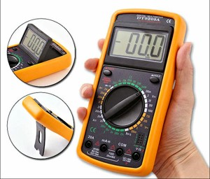 DT-9205A TESTER MULTIMETER DIGITALE PRO
