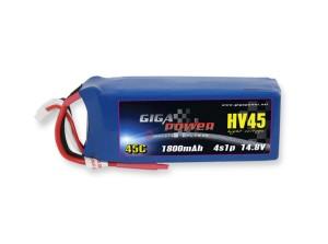 GP1800HV4S GigaPower 1800mAh 4S1P 14,8V 45C
