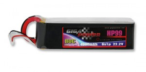 GP4600HP6S 22.2V 4600mAh 6Cell 80C Continui