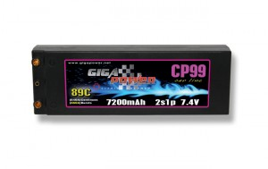 GP7200CP-HP GP7200CP-HP 7.4V 7200mAh 2Cell 89C