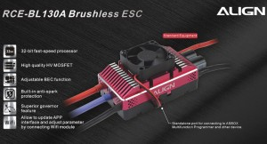 HES13001 RCE-BL130A Brushless ESC