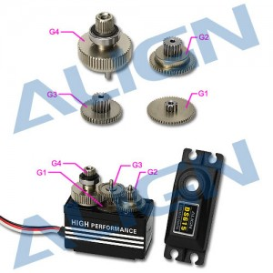 DS615 Servo Gear Set HSP61501