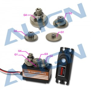 DS655 Servo Gear Set HSP65502