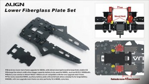 M480037XX M690L Lower Fiberglass Plate Set