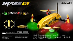 MR25 V2 Racing Quad Combo 2K - Yellow