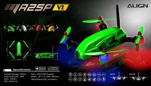 MR25P V2 Racing Quad Combo 2K - Green